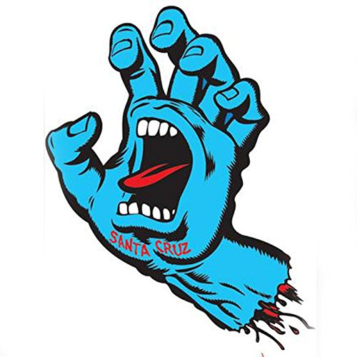 "Santa Cruz Screaming Hand 6\"" Sticker"