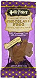 Harry Potter, Warner Brothers Milk Chocolate Frog With Collectible Wizard Trading Card