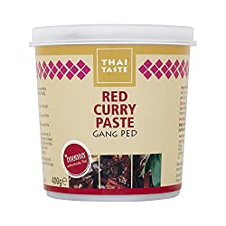 Thai Taste Red Curry Paste, 400 G