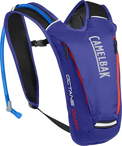 Camelbak Products LLC Uni Camelbak Octane Dart Hydration Pack Trinkrucksack, Deep Amethyst/Fiery Coral, 50 oz