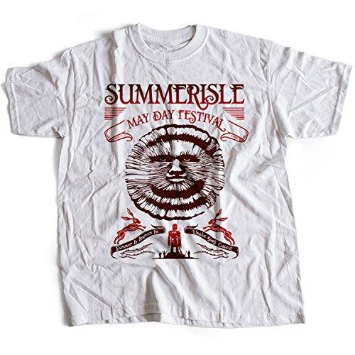 9364w Summerisle Festival Herren T-Shirt The Wicker Man Green Man Inn Lord Burning - Wicker Man-shirt