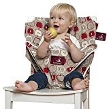 TOTSEAT Chaise Nomade pour Bébé Motif Apple Multicolore