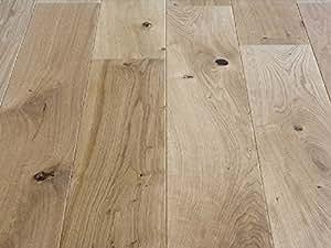 Pavimento in legno Parquet prefinito Rovere levigato oliato, Plancia unica a ...