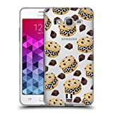 Head Case Designs Chip Kekse Schokoladen Desserts Soft Gel Hülle für Samsung Galaxy Grand Prime