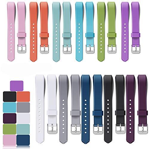 iFeeker Für Fitbit Alta und Alta HR Armband, 11 Farben Auswahl Weiche Silikon Sport Armband für Fitbit Alta und Alta HR Unisex Fitness Armband