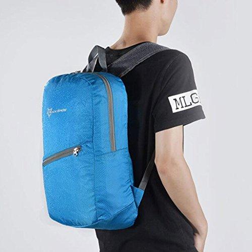 SINCERE@ tragbare / doppelter schulter mit rucksack / - tasche / outdoor männlich weiblich bike - tasche - / sportausrüstung Rot