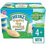 Heinz Crémeux Riz Au Lait Les Pots De Dessert 4 X 100G