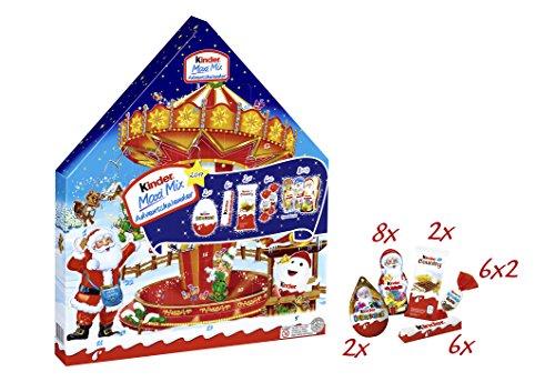 Calendario Avvento Kinder Prezzo.Ferrero Kinder Maxi Mix Calendario Dell Avvento 351g 1pezzo