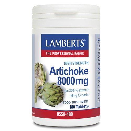 LAMBERTS - ALCACHOFA 180tab L8558180