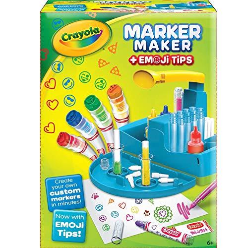 Crayola Marker Maker (Filzstift-Designer) mit Emoji-Spitzen (englische Version)