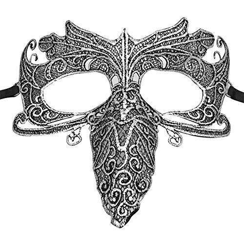 Meigold Halloween Maske Spitze Schnabel Maske Kostüm Party Maske Halloween Zubehör (Ente Donald Kostüm)