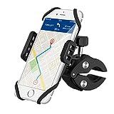 VicTsing Supporto Bici Porta Cellulare Bici, Porta Cellulare Moto Supporto Manubrio Universale Rotabile a 360 Gradi per iPhone 8/8Plus/7/7Plus/6/6s, Galaxy S8/S8 Plus/S7 e altri 3.5-5.8 Pollici, Nero
