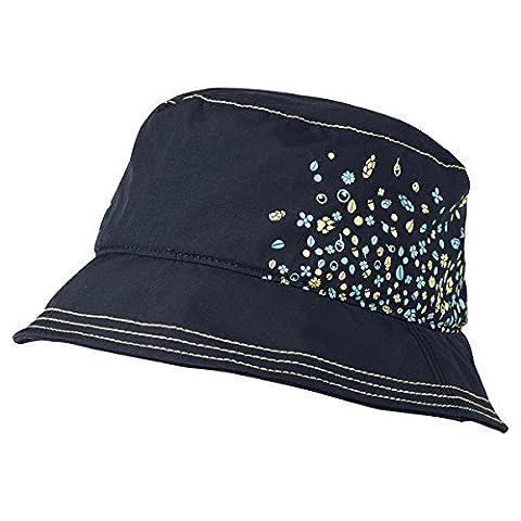 Jack Wolfskin Mädchen Hut Girls Sunny Spell Hat, Night Blue, M, 1903501-1010003