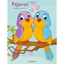 Loros y Pájaros libro para colorear 1 & 2