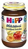 Hipp Grießbrei Früchte, 6-er Pack (6 x 190 g) - Bio