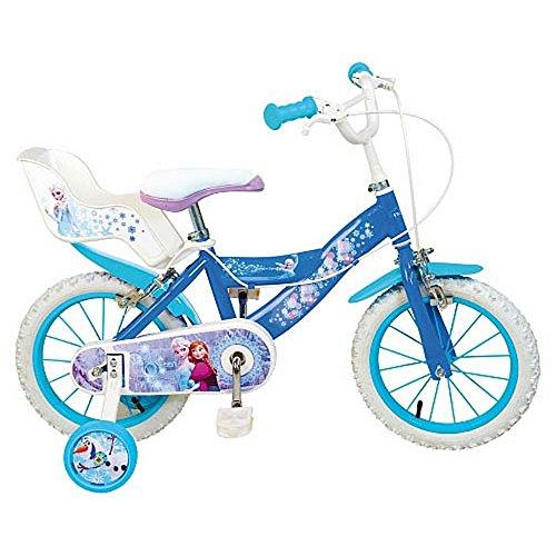 Vélo La reine des neiges 12 pouces *** 2 freins, pneus gonflables ***
