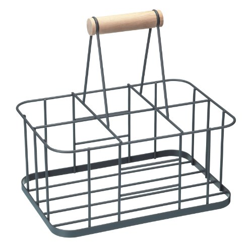 kitchencraft-living-nostalgia-wire-metal-milk-crate-bottle-carrier-29-x-20-x-13-cm-grey