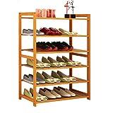 Holzständer Für Stiefel Schuhe Groß Schuh Veranstalter Lagerung Stand 6 Tier Für Balkon Eingangstür Eingang