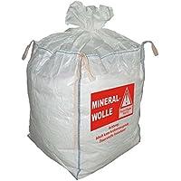 5 Big Bag, FIBC, Mineralwolle, MIWO, Entsorgungssack, 90x90x110cm SWL 150Kg (7,46€/Stück)