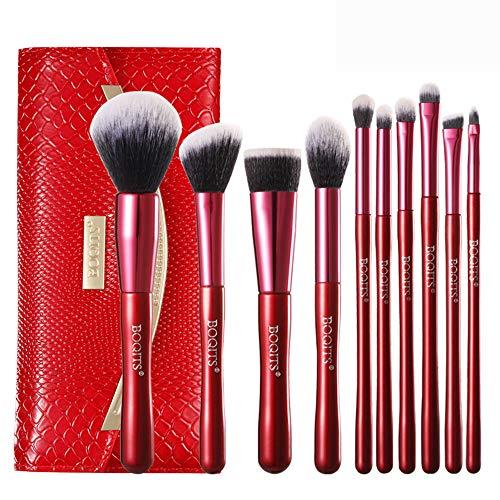 CC-Makeup Brush Ensemble de pinceaux de Maquillage pinceaux de Maquillage Fond de Teint Poudre Professionnel pour Le Visage mélange de Blush pinceaux de Fard à paupières cosmétiques