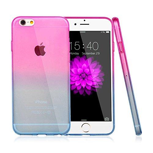 iPhone 6S Schutzhülle, iPhone 6Fall: Belk [ST] Serie [Ultimate Weich und dünn] [Seaside] Colorful Gel Case Transparent Silikon Back Cover für iPhone 6S/iPhone 6–4,7, Sonnenaufgang auf dem Meer Scener Sunset on sea