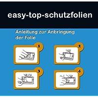 Easy Top Antireflex (anti-impronte–opaco) pellicole protettive per schermo Display per Mtech aTAB5phone