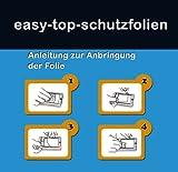 easy-top ANTIREFLEX (Anti-Fingerprint -seidenmatt) Display Schutz Folie Schutzfolien für Panasonic Lumix DMC-TZ56