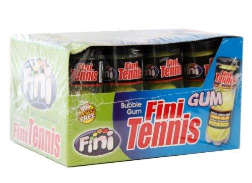 Bubble Gum Tennis Balls gefüllt mit Lemon & Lime Glutenfrei Menge:Display