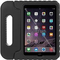 Custodia Ipad Air 2per bambini: Aken protezione antiurto per Apple iPad Air 2(6th generazione) Kid prova + Ultra Leggero con impugnatura comoda maniglia + Supporto