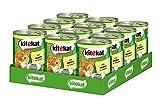 Kitekat Katzenfutter Nassfutter Adult für erwachsene Katzen mit Huhn in Sauce