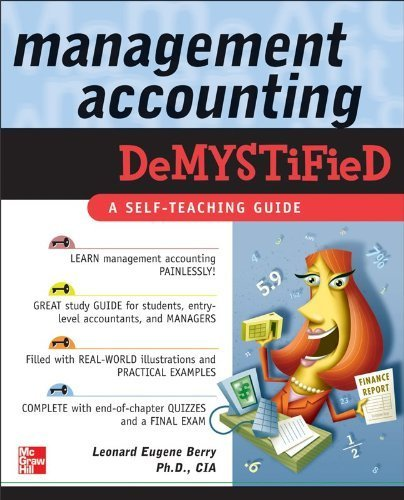 (Management Accounting Demystified) By Berry, Leonard Eugene (Author) Paperback on 23-Nov-2005