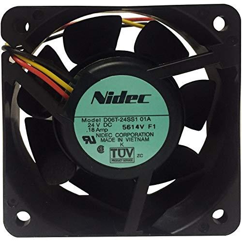 PC Case Cooling Fan 60x60x25mm 3 wires 3000RPM NIDEC