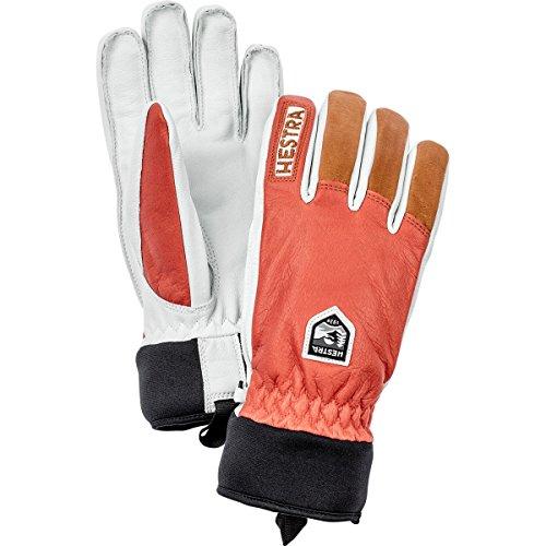 Hestra Army Leather Wool Terry Handschuhe Skihandschuhe Fingerhandschuhe