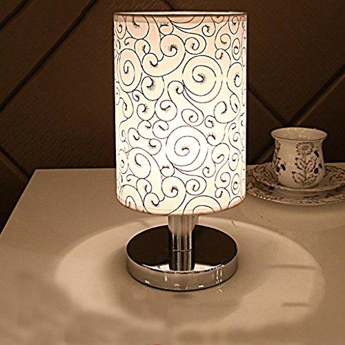 Lamp LU de Table Européenne Chambre de Chevet Bureau Décoratif Lumière Moderne Simplicité (Couleur : B)