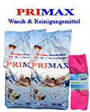 2 x 10 Kg Primax Waschpulver Waschmittel Vollwaschmittel im PVC-Sack Versandkostenfrei !!