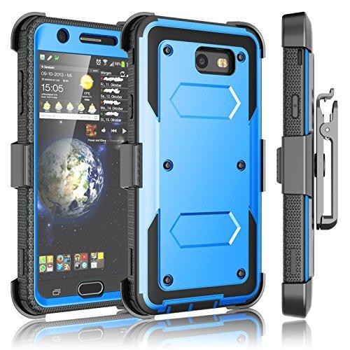 Royal Blue Womens Capris (Galaxy J7Sky Pro Fall, Galaxy J7V/j7V/J7perx Holster Clip, tekcoo [tshell] [integrierten Bildschirm] Locking Sicherer Swivel Gürtel Ständer Full Body Case Cover für Samsung J72017)
