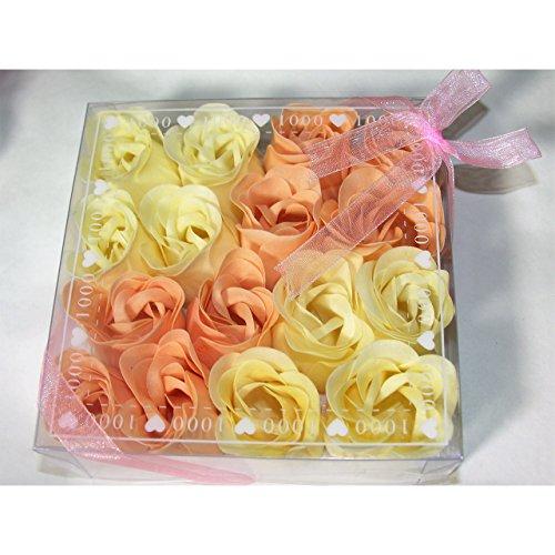 gaesteseife 16 Stk Duft Baderosen rosa weiss Rosenseifen Gästeseifeseife Geschenkidee Seife