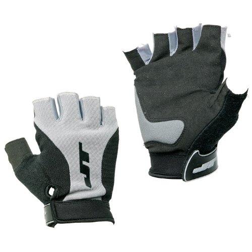 Paintball JT Halbfinger Handschuhe - onesize (schwarz/grau) des Herstellers JT