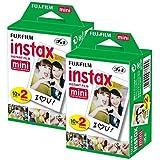Fujifilm Instax Mini Film (40 Aufnahmen) Multipack