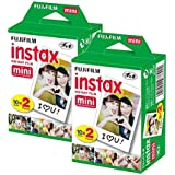 Fujifilm Instax Mini Film-Bundle Lot de 40 Photos