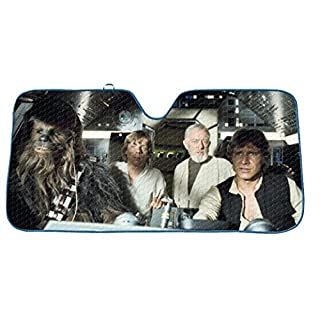 Star Wars Front Windscreen Sun Shade
