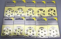 Hearing Aid Batteries Size 10Pack of 60