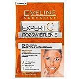 Eveline Cosmetics Expert C Youth Activator Brightening Face Mask 2x 5ML set di 3con vitamina C