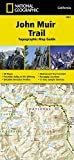 John Muir Trail Topographic Map Guide (National Geographic Trails Illustrated Map, Band 1001)