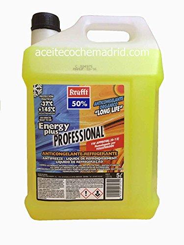 Krafft - Antifreeze cc-energy plus-50 5l yellow