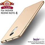 #10: Wow Imagine All Sides Protection Sleek Rubberised Matte Hard Case Back Cover For Xiaomi Mi Redmi Note 4 , Champagne Gold