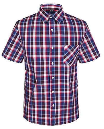 Banqert-camicia-da-uomo-a-quadri-puro-cotone