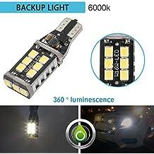 ziste LED Copia de seguridad luces 800lumens muy brillante libre de errores 921912T15W16W PX chipsets LED bombillas para luces de copia de seguridad inversa, Xenon Blanco