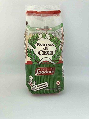 Ingredientes: harina de garbanzo. (puede contener trazas de soja).