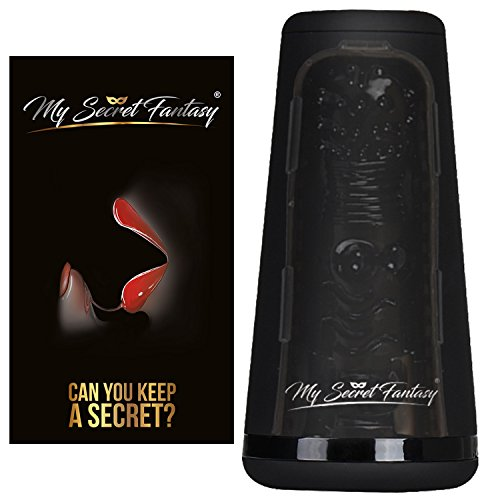 MySecretFantasy Realistisches Sexspielzeug Taschenmuschi Mann: Taschenvagina mit lebensechtem Silikon Material - Selbstbefriedigung für Männer mit Saugen und großen Noppen - Unauffälliges Design